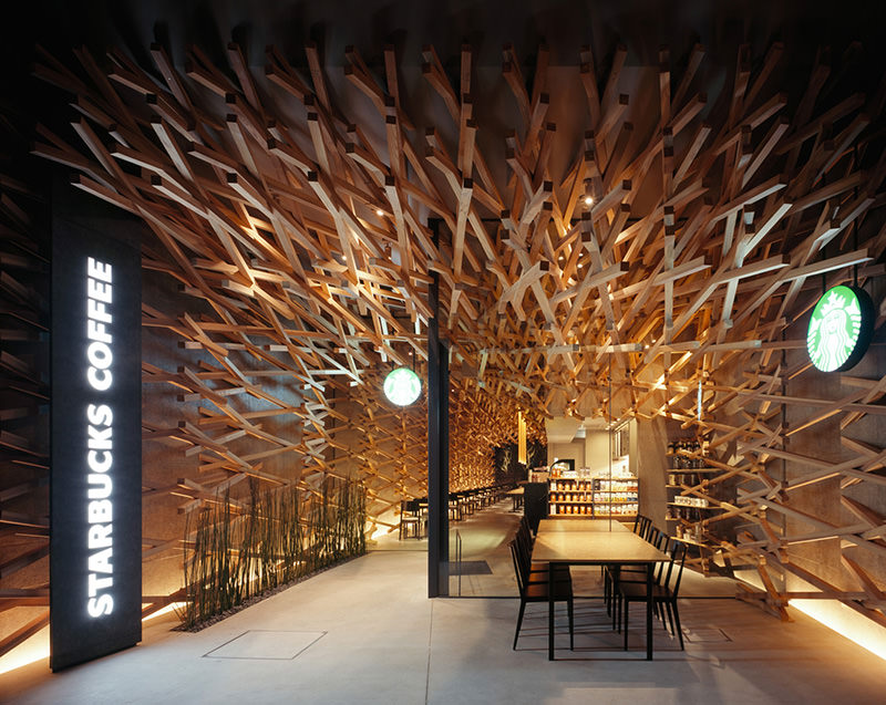 Starbucks Coffee Shop by Kengo Kuma and Associates