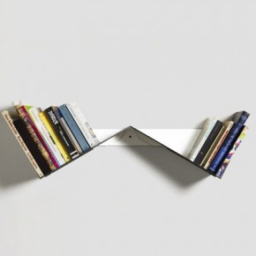 Transitory Bookshelf by Robert Stadler