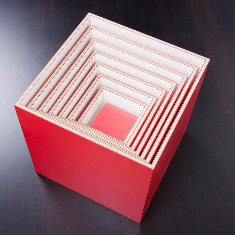 Modular Wall Shelving System Box 1-7