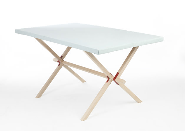 Frame and Panel Dining Table by Edward Hale