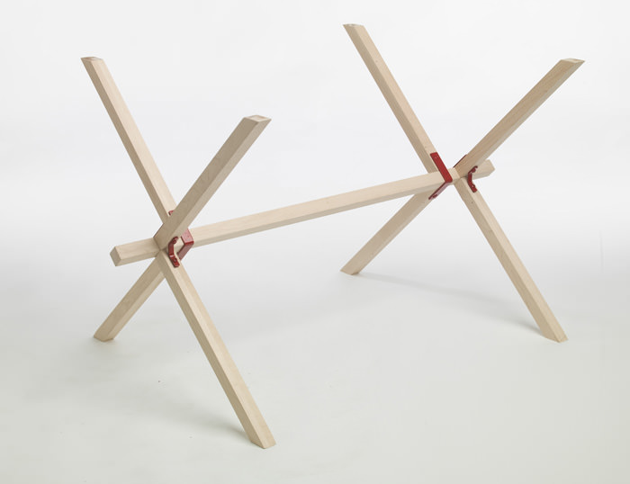 Frame and Panel Table by Edward Hale