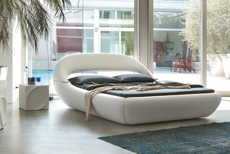 SLEEPY Bed by Angelo Tomaiuolo for Tonin CASA