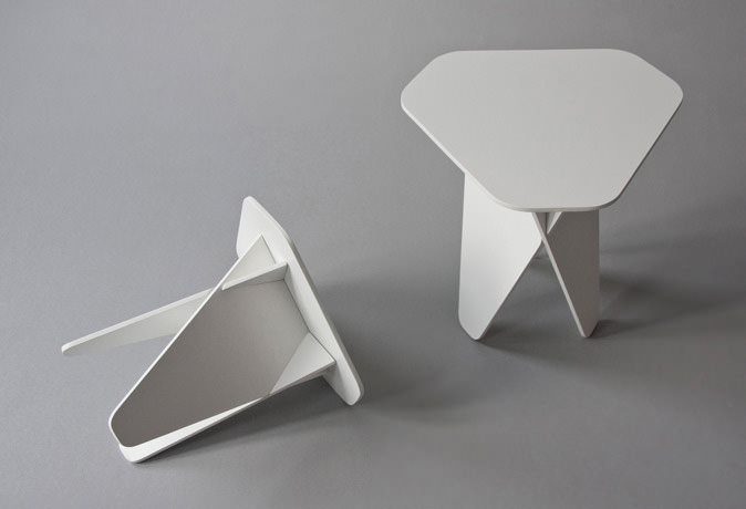 Wedge Coffee Table by Andreas Kowalewski