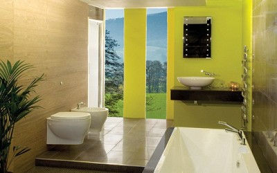 Color trends in Bathrooms for the year 2012