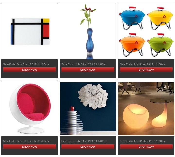 flash sale sites home decor