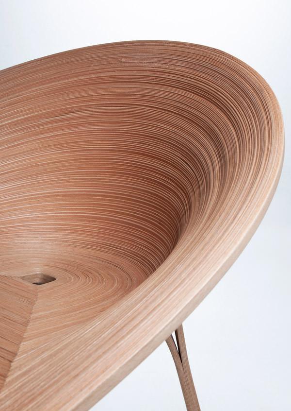 Tamashii Chair by Anna Stepankova