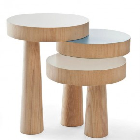 Versatile Toad Side Table by Philipp Beisheim