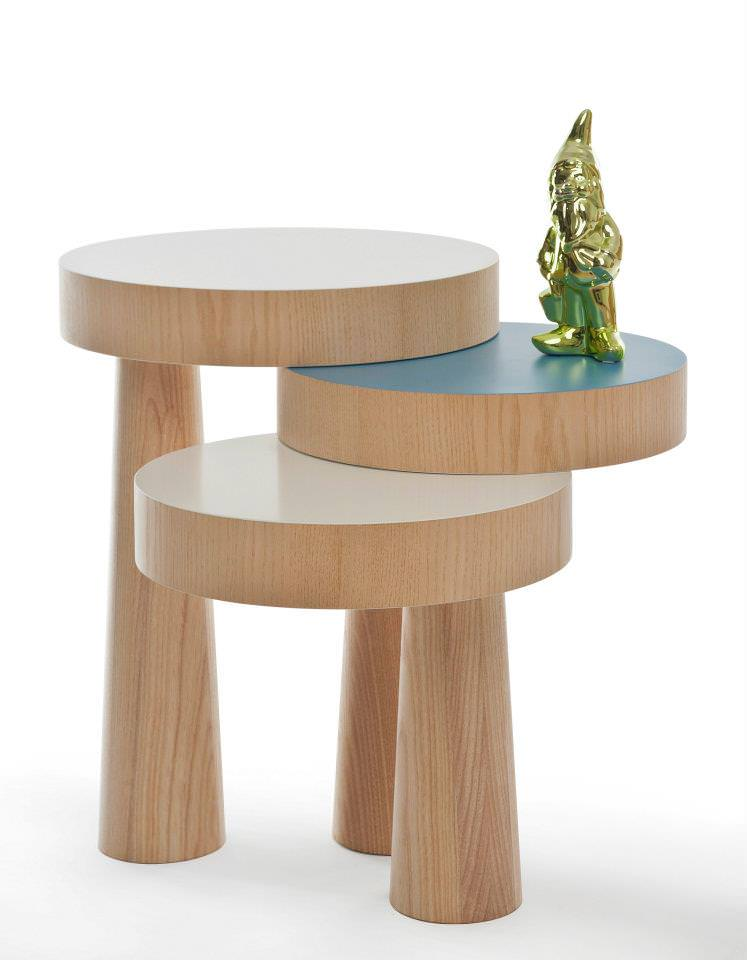 Toad Side Table by Philipp Beisheim