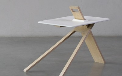 Tripod Side Table by Noon Studio