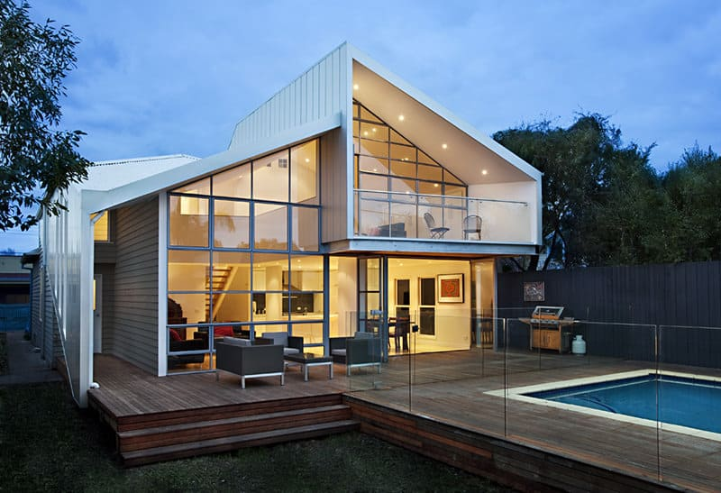 The Blurred House by Bild Architecture