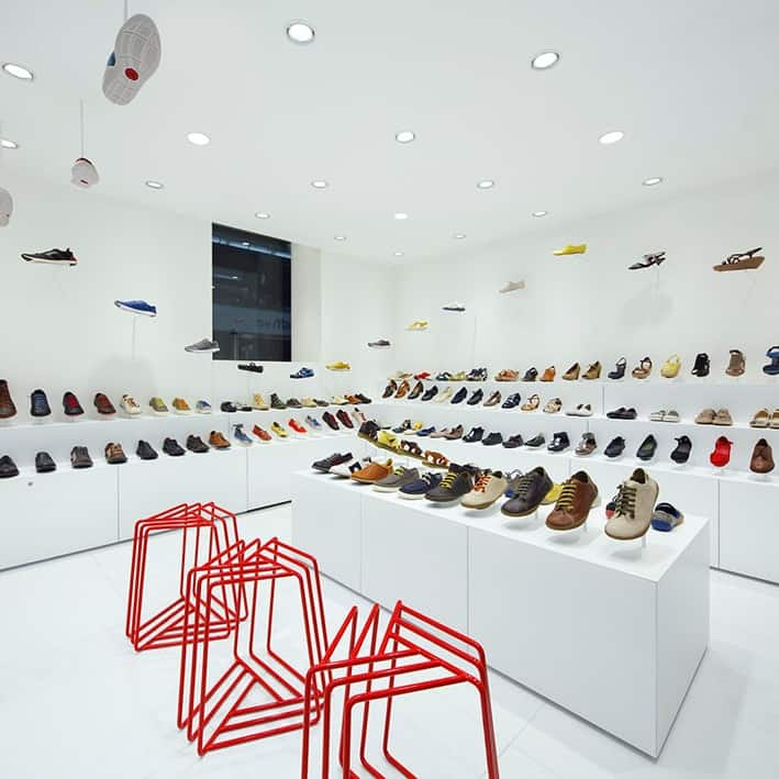 Camper Store in Osaka by Nendo