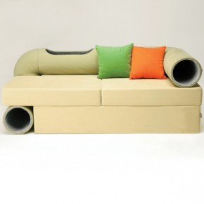 Cat Tunnel Sofa by Seungji Mun