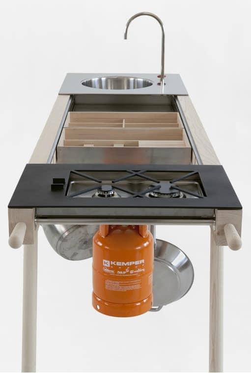 Critter Portable Kitchen by Elia Mangia