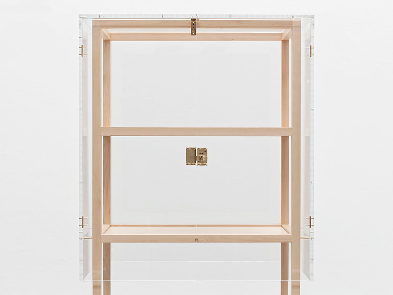Frank Transparent Cabinet by Snickeriet