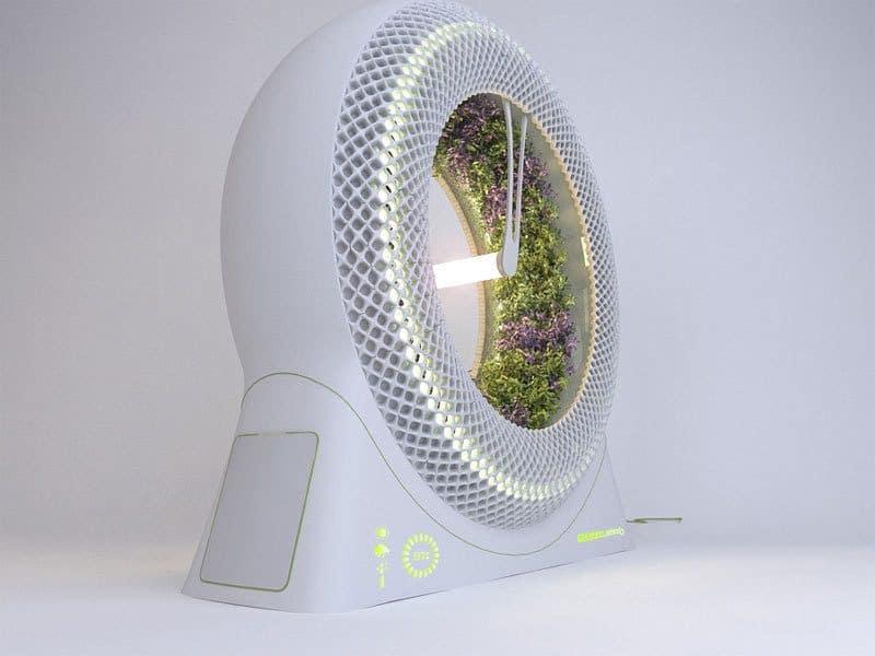 The Green Wheel Indoor Gardening Concept by DesignLibero