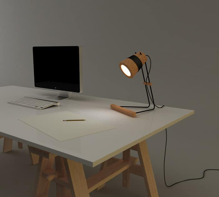 Kurk Desk Lamp by Craig Foster