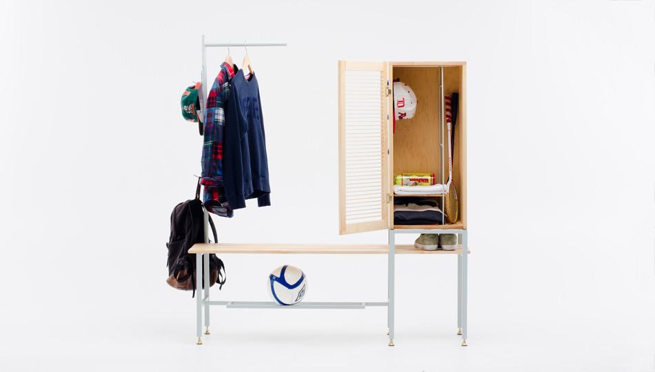 Locker Room by Tom Chung