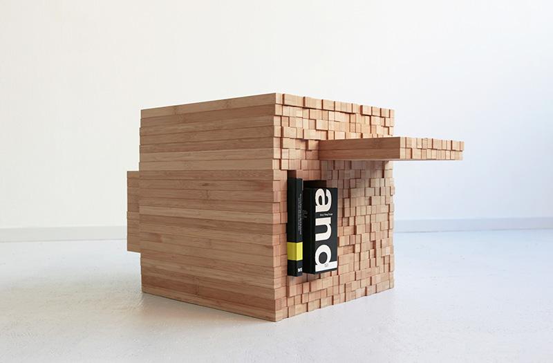 PixelTable by Studio Intussen