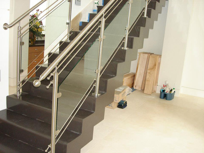 Glass Stairway Railing Ideas