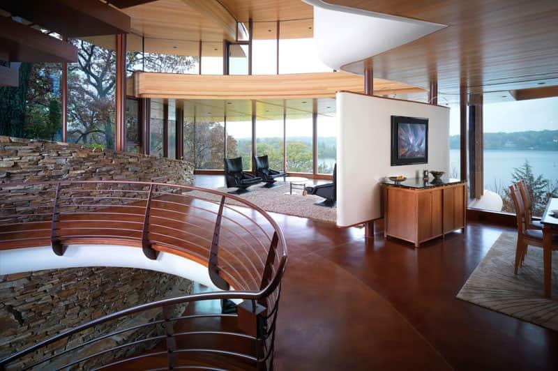 Chenequa Residence by Robert Harvey Oshatz
