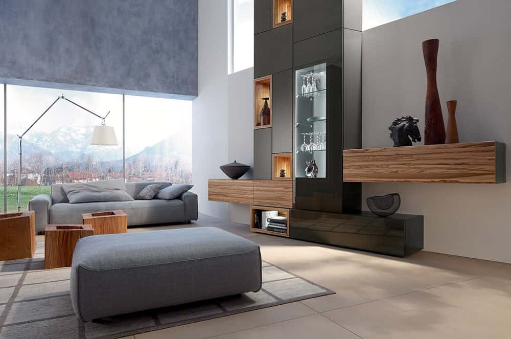 Modern living room furniture series neo by huelsta for Room by room furniture