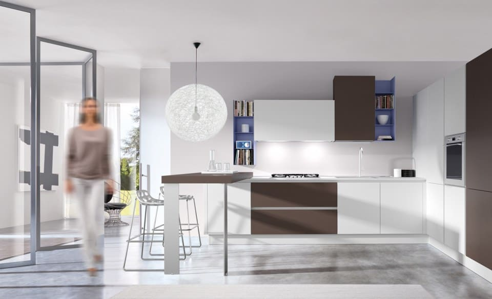 Contemporary Italian Kitchen Design ONEtouch