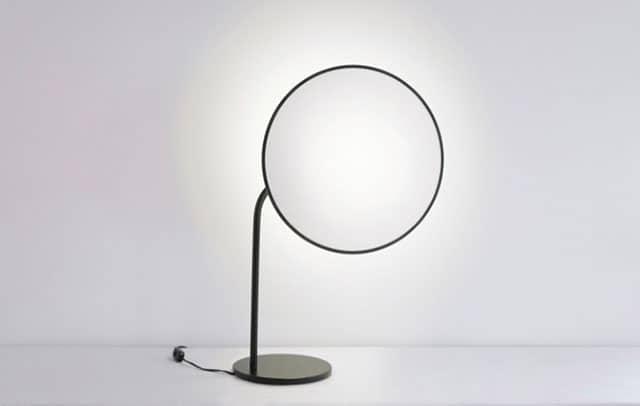Rim Desk Lamp by Jun Yasumoto