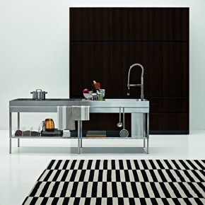 Slim Kitchen by Palomba Serafini for Elmar Cucine