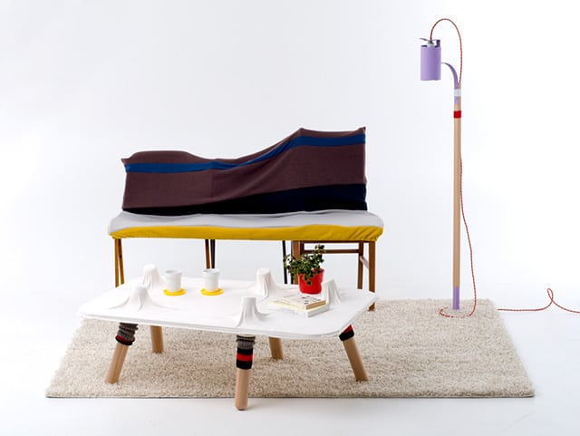 Socks + Furniture Collection by Greg Papove