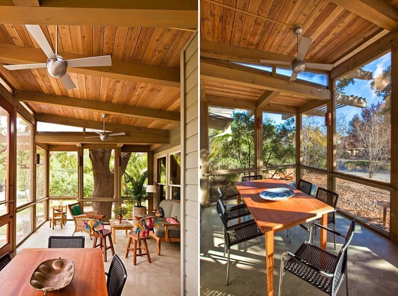 Tree House Porch by John Grable Architects