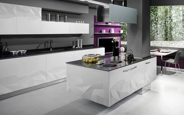 Artica kitchen by estudiosat for delta cocinas for Kitchen designs by delta