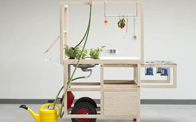 Mobile Kitchen by Ania Rosinke and Maciej Chmara