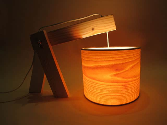 Nature & Light Lamp by André Machado Silva