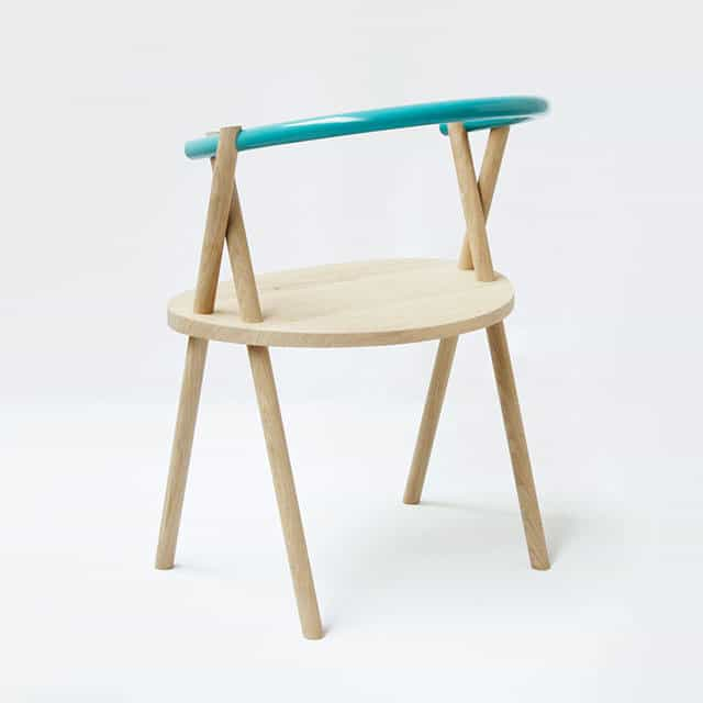 Stuck Chair by Stefan Tervoort and Pim Snijdoodt