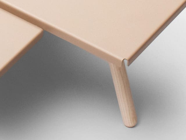 Tablefields Coffee Table by Frederik Roijé