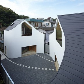 A House Made of Two by Naf Architect &amp; Design