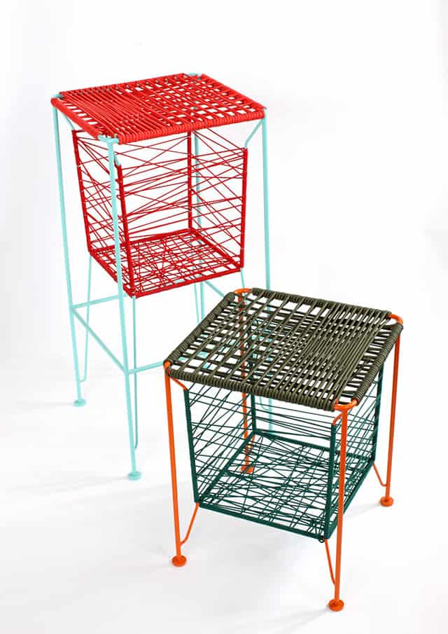 Dami und Damaki Seating and Storage Furniture by Dahm Lee