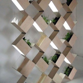 Herb²: Flexible Partition Wall and Indoor Herb Garden