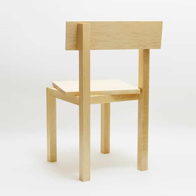 Portrait in Chair by Akio Hayakawa
