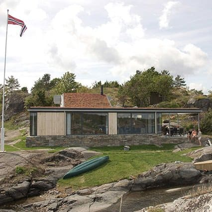 Summer House Skatoy by Filter Arkitekter As