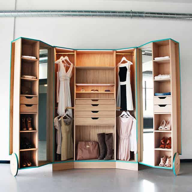 Walk-In Closet by Hosun Ching