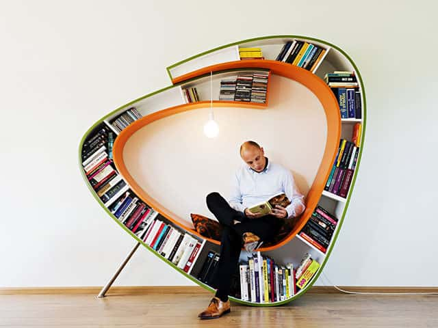 Bookworm Bookcase by Atelier 010