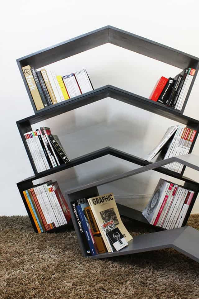 Lean Bookshelf by Monocomplex