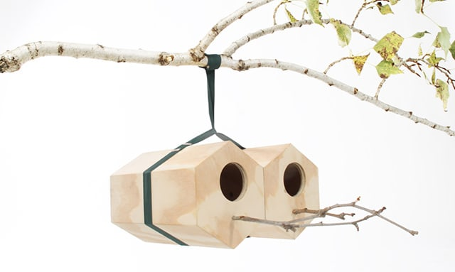 NeighBirds Modular Birds' Nest by Andreu Carulla