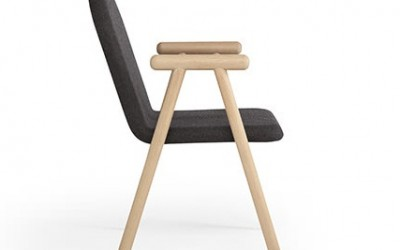 Pole Chair by Paul Nederend
