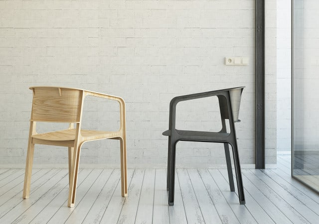 Beams Plywood Chair by Eric Chang and Johnny Hu