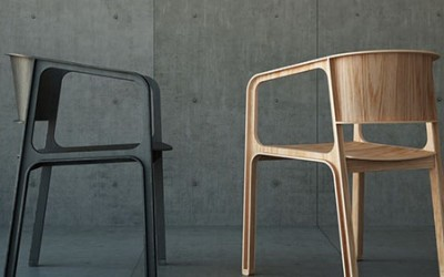 Beams Chair by Eric Chang and Johnny Hu