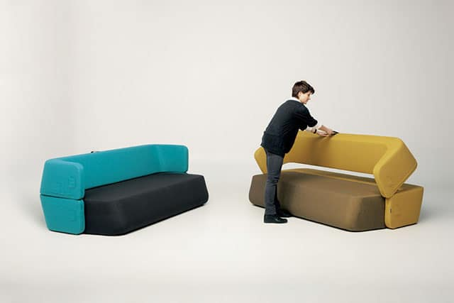 Revolve Sofa-Bed by Numen + R. Bratovic & I. Borovnjak