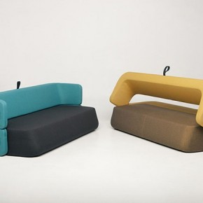 Revolve Sofa-Bed by Numen + R. Bratovic &amp; I. Borovnjak