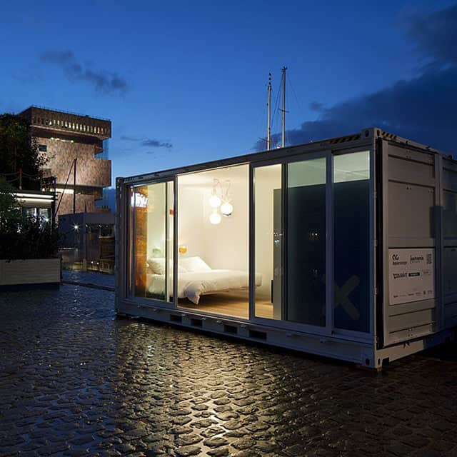 Sleeping Around - Unique Pop-Up Shipping Container Hotel